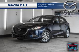 Used 2017 Mazda MAZDA3 AUTOMATIQUE+CAMÉRA DE RECUL+BLUETOOTH+BAS KM for sale in Montréal, QC