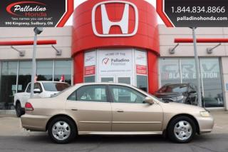 Used 2002 Honda Accord Sdn EX    AS-IS for sale in Sudbury, ON