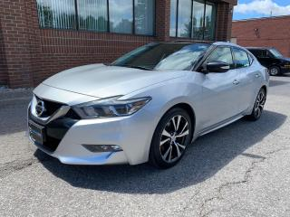 Used 2016 Nissan Maxima SL Navigation, Sunroof, Blind Spot Monitors for sale in Woodbridge, ON
