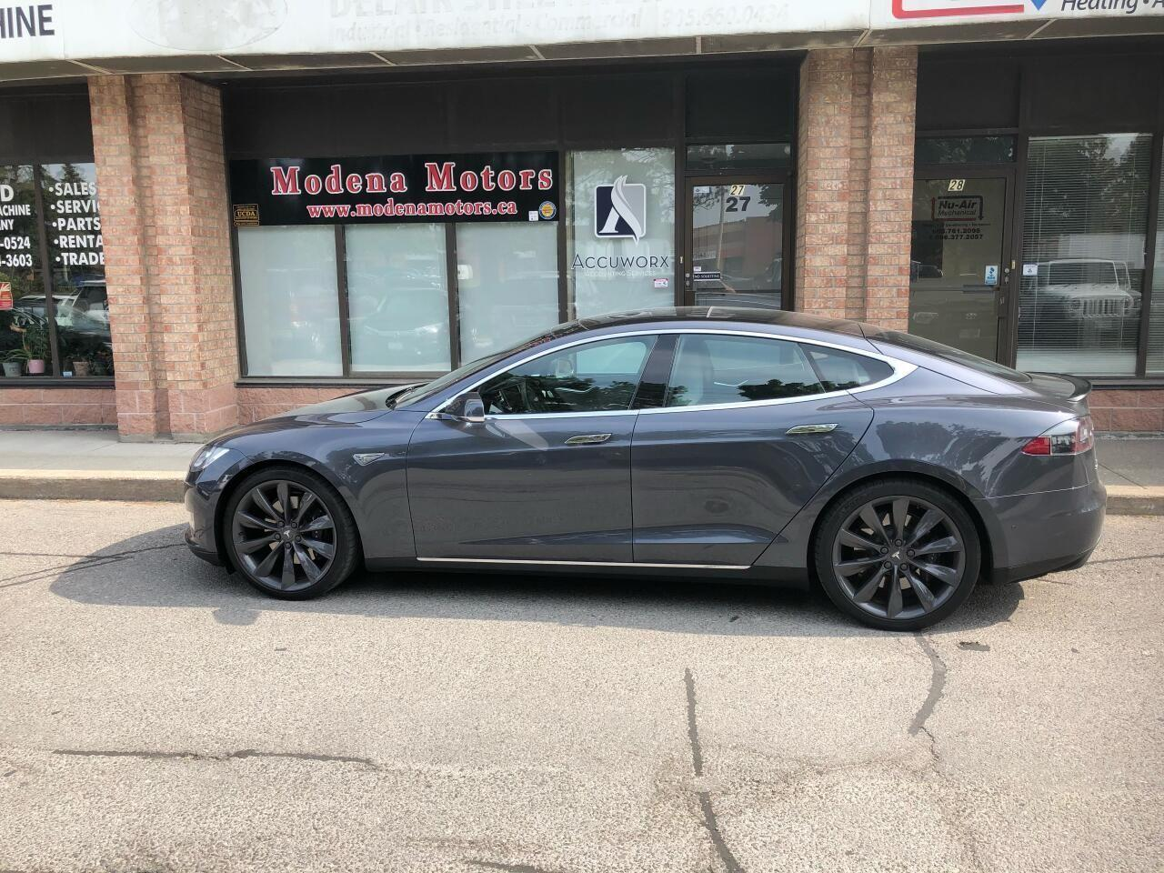 Photo of Gray 2016 Tesla Model S P90D HATCH SEDAN