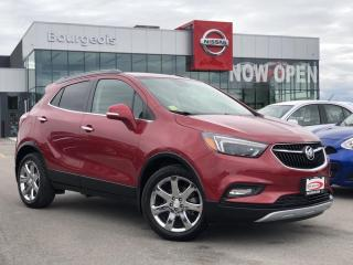 Used 2017 Buick Encore Essence NAVIGATION, HEATED STEERING WHEEL for sale in Midland, ON
