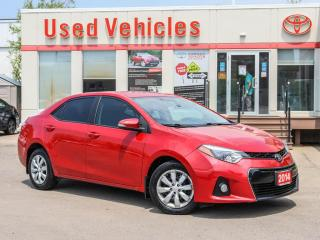 Used 2014 Toyota Corolla 4dr Sdn CVT S for sale in North York, ON