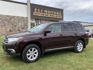Used 2013 Toyota Highlander AWD LEATHER REAR VIEW CAMERA BLUETOOTH for sale in North York, ON