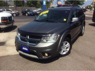 Used 2012 Dodge Journey SXT & Crew for sale in Sarnia, ON