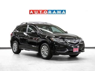 Used 2016 Acura RDX Tech Pkg AWD Nav Leather Sunroof Backup Cam for sale in Toronto, ON