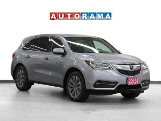 Used 2016 Acura MDX Tech Pkg AWD Nav Leather Sunroof Backup Cam for sale in Toronto, ON
