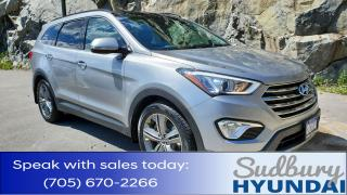 Used 2014 Hyundai Santa Fe XL Limited One owner! Quad Captain's chairs! Super low KMs! for sale in Sudbury, ON