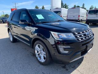 Used 2017 Ford Explorer Limited | Rain sensing wipers | Bluetooth for sale in Harriston, ON