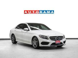 Used 2017 Mercedes-Benz C 300 AMG Pkg 4Matic Nav Leather Panoroof Backup Cam for sale in Toronto, ON