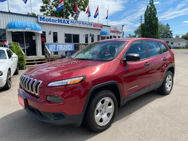 2016 Jeep Cherokee Sport-4X4-REAR VIEW CAMERA-ACCIDENT FREE