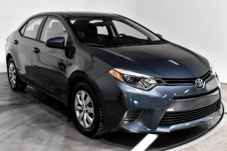 Used 2016 Toyota Corolla LE A/C SIEGE CHAUFFANT for sale in Île-Perrot, QC