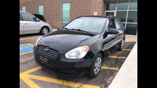 Used 2008 Hyundai Accent L MANUAL SEDAN for sale in Toronto, ON