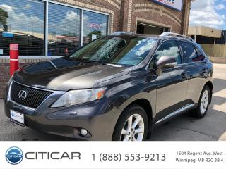 Used 2010 Lexus RX 350 for sale in Winnipeg, MB