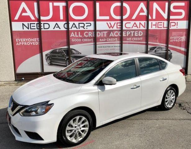 2019 Nissan Sentra SV-ALL CREDIT ACCEPTED