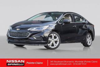 Used 2017 Chevrolet Cruze Premier NAVIGATION-CUIR-TOIT OUVRANT-WIFI for sale in Montréal, QC