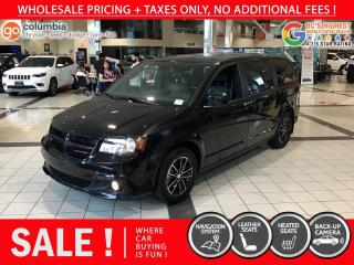 Used 2019 Dodge Grand Caravan GT - No Accident / Local / Leather / Nav for sale in Richmond, BC