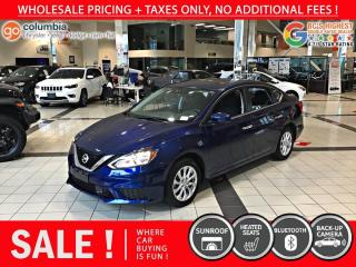 Used 2019 Nissan Sentra SV - Sunroof / No Accident / Local for sale in Richmond, BC