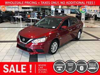 Used 2019 Nissan Sentra SV - Local / Sunroof / Heated Seats for sale in Richmond, BC