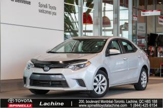Used 2015 Toyota Corolla LE for sale in Lachine, QC