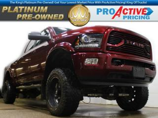 Used 2018 RAM 3500 Laramie | Mega Cab | 6.7L Cummins | Lifted & Acces for sale in Virden, MB