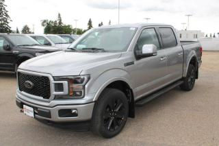New 2020 Ford F-150 LARIAT 502A | 4X4 SuperCrew |5.0L V8 | Black Appearance PKG | Twin Panel Moonroof | Heated Steering Wheel | Heated/Cooled Seats | FX4 for sale in Edmonton, AB