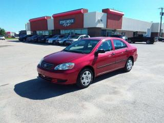 Used 2003 Toyota Corolla CE 4dr FWD 4 Door Sedan for sale in Steinbach, MB