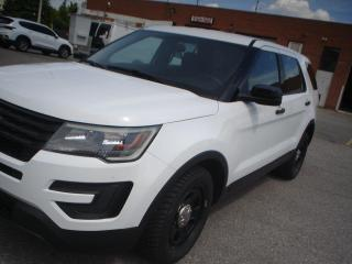 Used 2017 Ford Explorer AWD,EX-POLICE,CERTIFIED for sale in Mississauga, ON