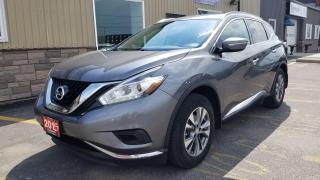 Used 2015 Nissan Murano OFF LEASE-NAVIGATION-HEATED SEATS-BACK UP CAMERA for sale in Tilbury, ON
