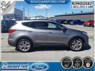 Used 2015 Hyundai Santa Fe Sport 2.0T SE AWD CUIR TOIT OUVRANT for sale in Rimouski, QC