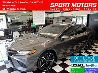 Used 2018 Toyota Camry XSE+360 Camera+Apple Carplay+Tech+Accident Free for sale in London, ON