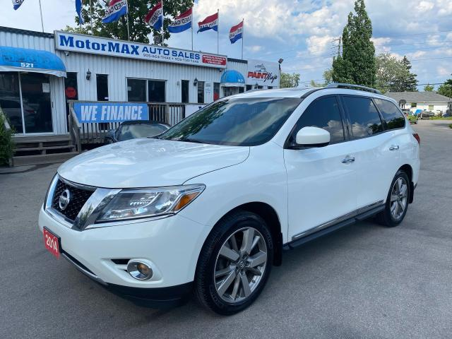 2014 Nissan Pathfinder Platinum-AWD-ACCIDENT FREE