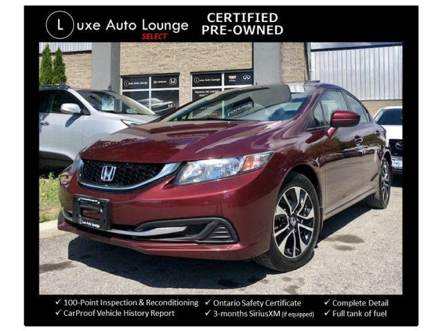 2015 Honda Civic EX - AUTO, SUNROOF, HEATED SEATS, SUPER CLEAN!!