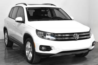 Used 2016 Volkswagen Tiguan COMFORTLINE QUATTRO TSI CUIR TOIT for sale in St-Hubert, QC