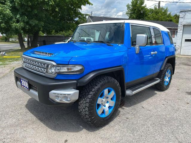 2008 Toyota FJ Cruiser Accident Free/4x4/Automatic/Leather/Certified