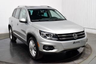 Used 2017 Volkswagen Tiguan COMFORTLINE AWD CUIR TOIT NAV for sale in Île-Perrot, QC