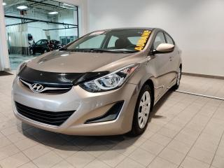 Used 2015 Hyundai Elantra GL ** 1 PROPRIÉTAIRE ** for sale in St-Eustache, QC