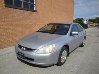 Used 2003 Honda Accord LX-G for sale in Oakville, ON