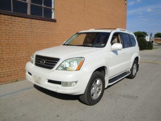 Used 2007 Lexus GX 470 7 PASSENGER/DVD/NAVI/LEATHER /V8 /SUNROOF for sale in Oakville, ON
