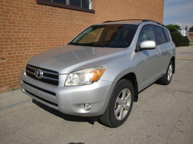 2007 Toyota RAV4 Limited/LEATHER/SUNROOF/4WD