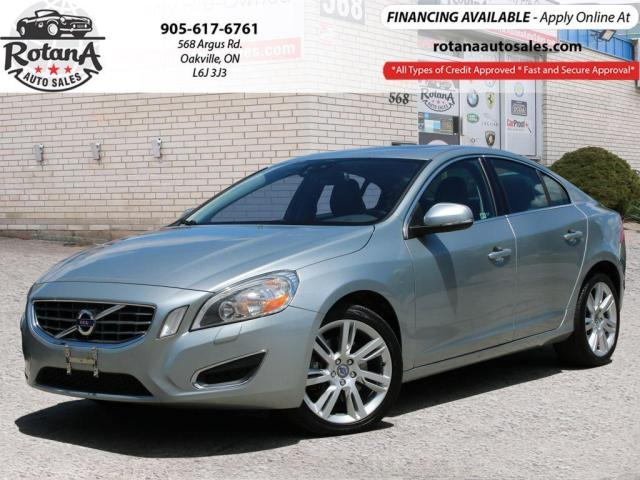 2012 Volvo S60 4dr Sdn T5 Level I w/Navi_Leather_Sunroof_Low KMs