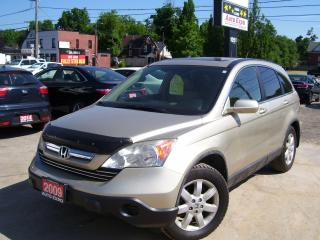 Used 2009 Honda CR-V EX-L,AWD,Leather,Sunroof,No Accident,Certified for sale in Kitchener, ON