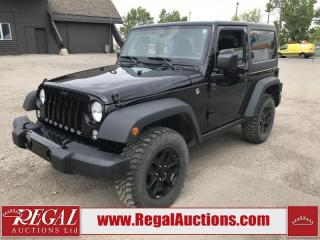 Used 2017 Jeep Wrangler WILLY'S EDITION 2D UTILITY for sale in Calgary, AB