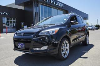Used 2013 Ford Escape Titanium (NAV) 4WD ESCAPE TITANIUM | ONE OWNER | CLEAN CARFAX | TEST DRIVE AVAILABLE | for sale in Burlington, ON