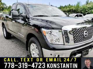 Used 2018 Nissan Titan SV King Premium Pkg ALMOST NEW 4x4 King Cab 6.6 ft. box 139.8 in. WB SV (A7) for sale in Maple Ridge, BC