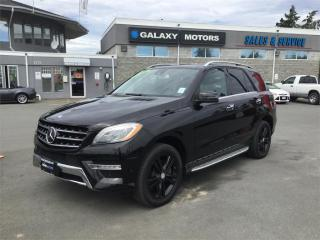 Used 2013 Mercedes-Benz ML 350 BLUETEC - NAV 3 Zone AC Heated Seats for sale in Victoria, BC
