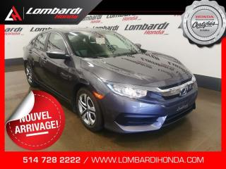 Used 2016 Honda Civic LX|CAM|BLUETOOTH| for sale in Montréal, QC