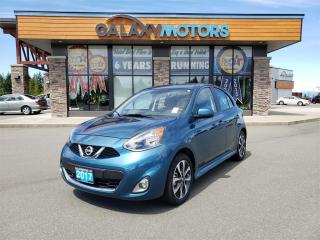 Used 2017 Nissan Micra SV - Back-Up Camera, Bluetooth, Full Power Package for sale in Courtenay, BC