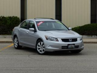 Used 2009 Honda Accord LOADED,EX,SUNROOF,ALLOY WHEELS,DEALER SERVICED,FUL for sale in Mississauga, ON