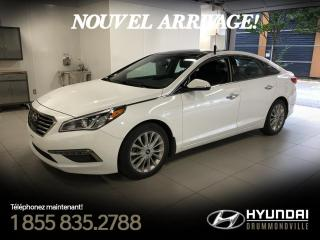 Used 2015 Hyundai Sonata LIMITED + GARANTIE + NAVI + TOIT PANO + for sale in Drummondville, QC