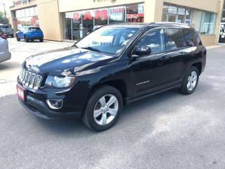 Used 2016 Jeep Compass High Altitude 4X4 - Heated Seats, Leather, Sunroof for sale in Kingston, ON